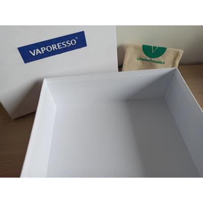 Boîte cadeau blanche sticker Vaporesso