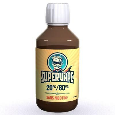 Base 20PG/80VG 250ml Supervape