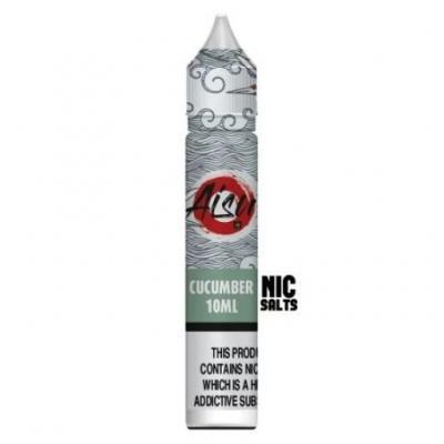 AISU Cucumber Nic Salts 0% succralose