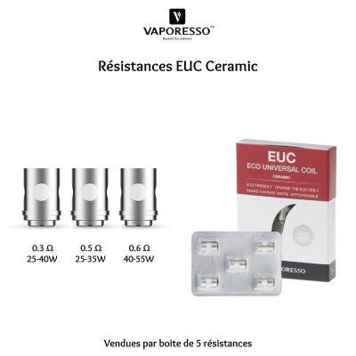 Vaporesso - Résistances EUC Céramic