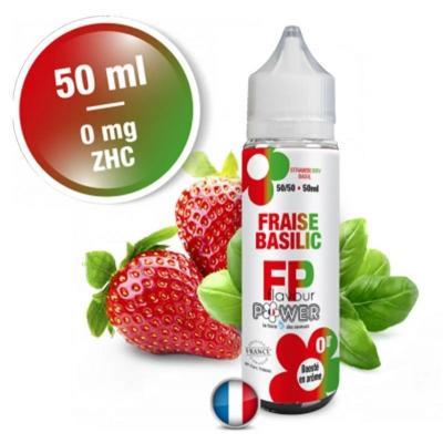 Flavour Power Fraise Basilic 50ml