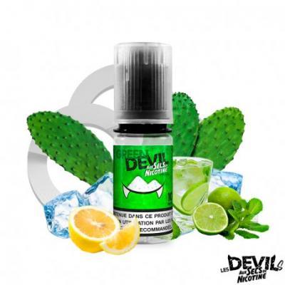 Green Devil sel de nicotine Avap