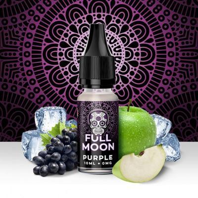 Purple Full Moon