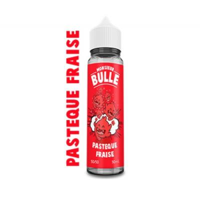 Pastèque Fraise 50ml Monsieur Bulle Liquideo