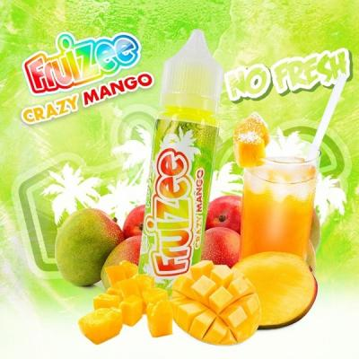 Fruizee No Fresh Crazy Mango 50ml