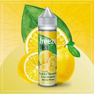 Freeze Tea Black Ice Tea Lemon & Lemongrass 50ml