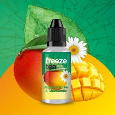 Concentré Mango Ice Tea & Chamomile 30ml Freeze Tea