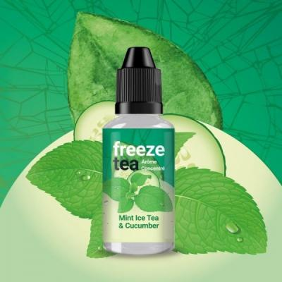 Concentré Mint Ice Tea & Cucumber 30ml Freeze Tea