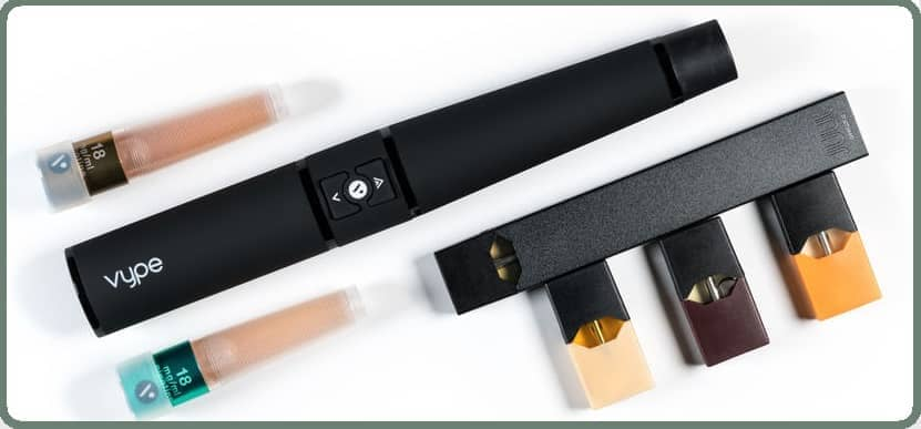 Pods e-cigarette